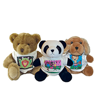 Stuffed Animals with T-shirt